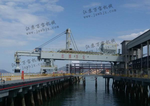 zhi线摆动式装船机
