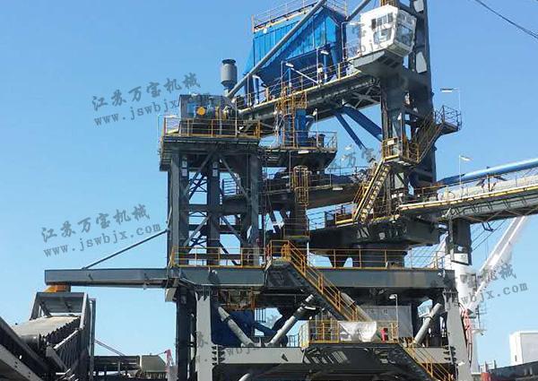 zhi线gui道式装船机